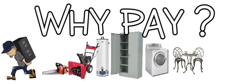 Why Pay Free Appliance Pick Up Lockport Il