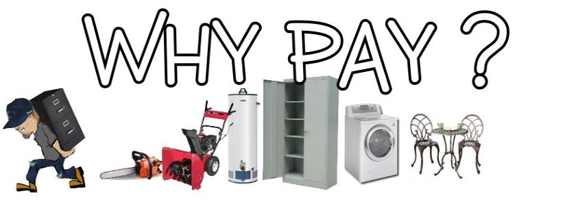 Why Pay Free Appliance Pick Up Removal Naperville Il