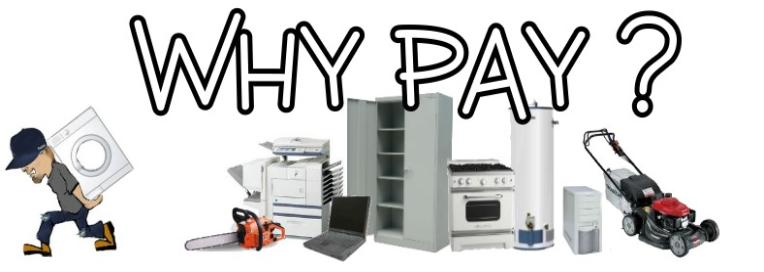 Why Pay? -Free Appliance Pick Up- Gary, IN