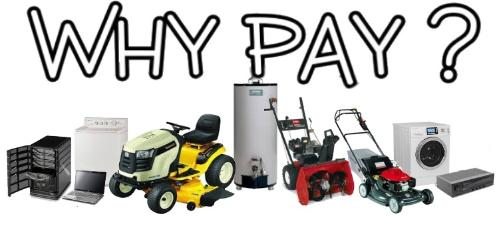 WHY PAY? Free Appliance & Restaurant Equipment Removal / Disposal